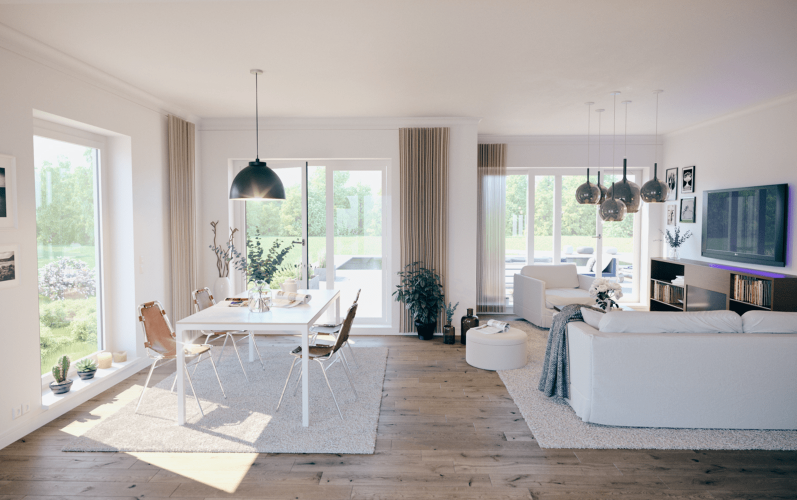 Einfamilienhaus SH 150 FS modern mit Satteldach