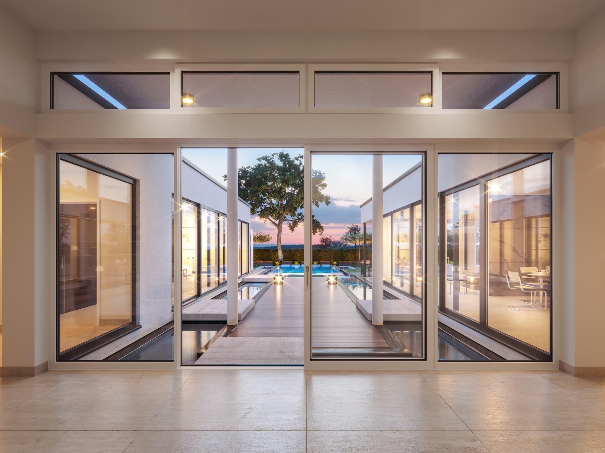 Inneneinrichtung Ideen Bungalow AMBIENCE 209 Bein Zenker Fertighaus - Haus bauen Ideen finden auf HausbauDirekt.de