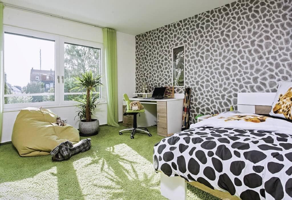 Kinderzimmer Ideen - Stadtvilla Inneneinrichtung WeberHaus Fertighaus City-Life Haus 250 - HausbauDirekt.de