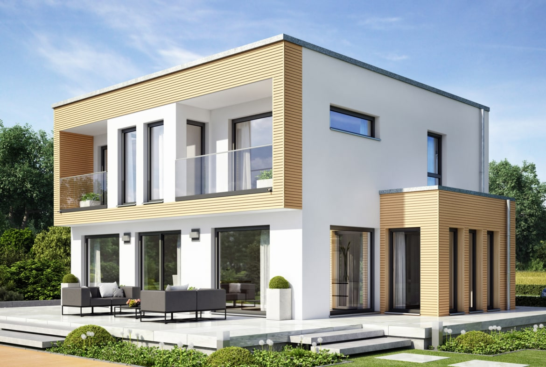 Einfamilienhaus Erker Haus EVOLUTION 154 V9 Bien Zenker Fertighaus