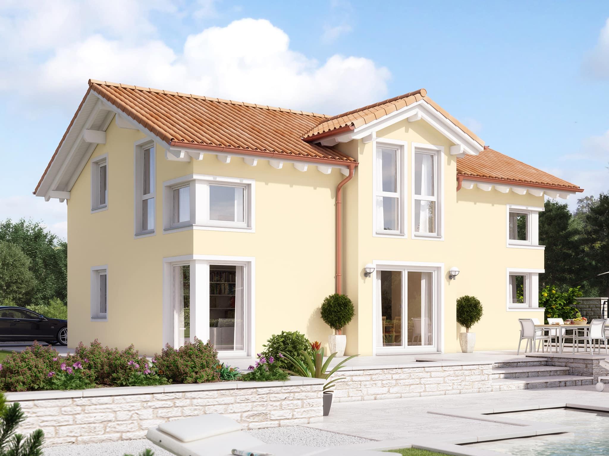 Einfamilienhaus Fertighaus EVOLUTION 148 V3 Bien Zenker Haus