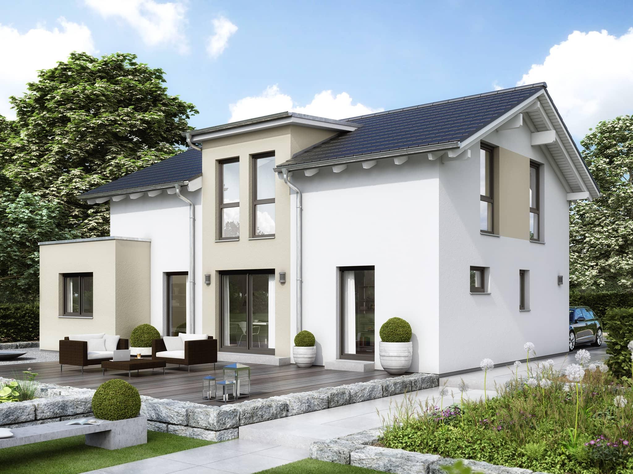 Einfamilienhaus Haus EVOLUTION 148 V4 Bien Zenker Fertighaus