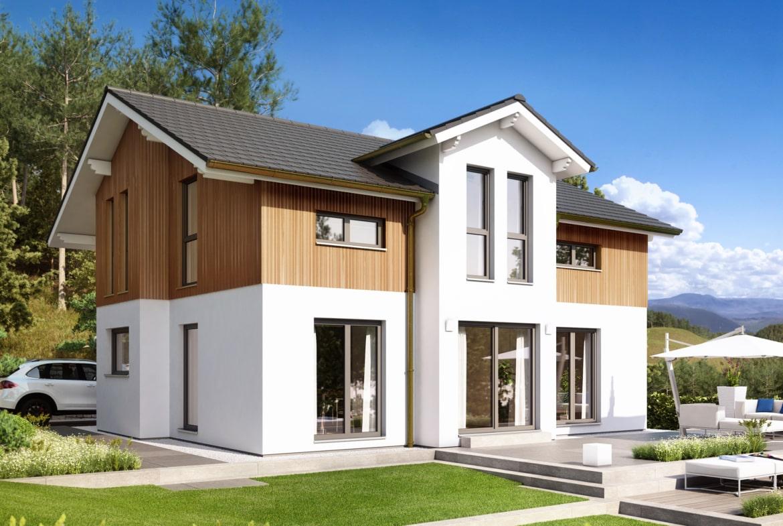 Einfamilienhaus Haus EVOLUTION 152 V6 Bien Zenker Fertighaus