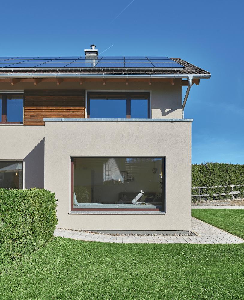 Einfamilienhaus mit Erker bauen - Haus Ideen Modernes Landhaus WeberHaus Fertighaus - HausbauDirekt.de