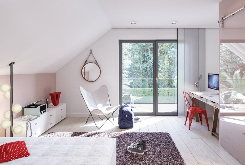 Modernes Kinderzimmer - Ideen Einrichtung Bien Zenker Haus FANTASTIC 165 V4 - HausbauDirekt.de