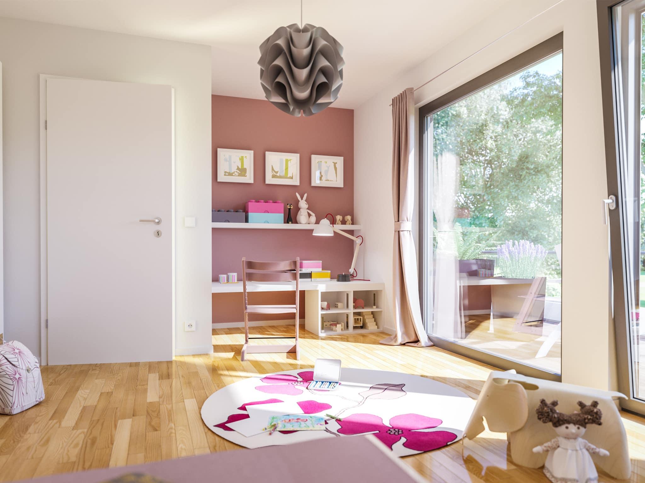 Kinderzimmer - Ideen Einrichtung innen Bien Zenker Haus FANTASTIC 163 V6 - HausbauDirekt.de