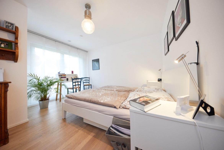 Schlafzimmer - Inneneinrichtung Fertighaus Neapel von GUSSEK HAUS - HausbauDirekt.de
