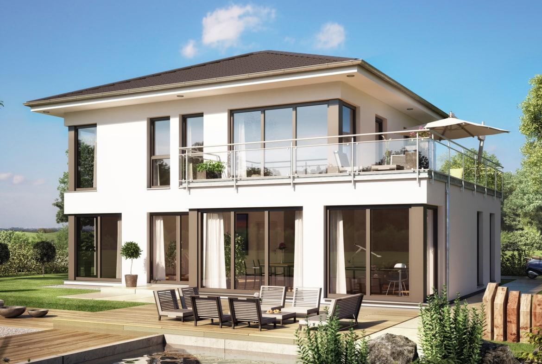 Stadtvilla EVOLUTION 154 V8 Bien Zenker Haus Fertighaus Einfamilienhaus