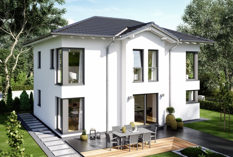 Stadtvilla Haus EVOLUTION 148 V5 Einfamilienhaus Bien Zenker Fertighaus
