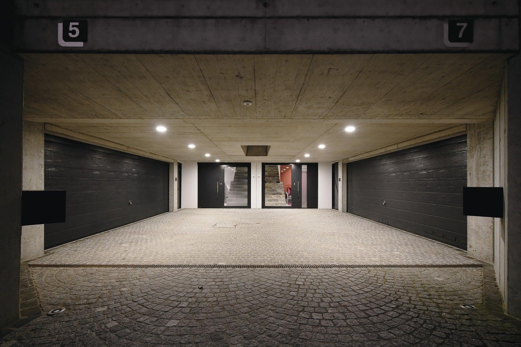 Tiefgarage - Doppelhaus WeberHaus Fertighaus - HausbauDirekt.de
